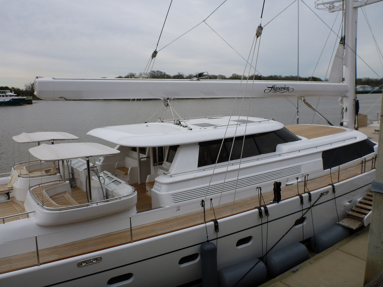 The Hyperion, A Private Sailboat