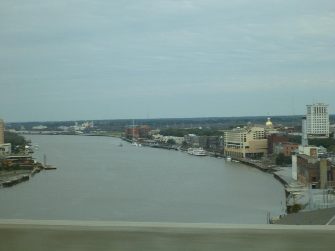 Crossing The Bridge To Savannah, GA