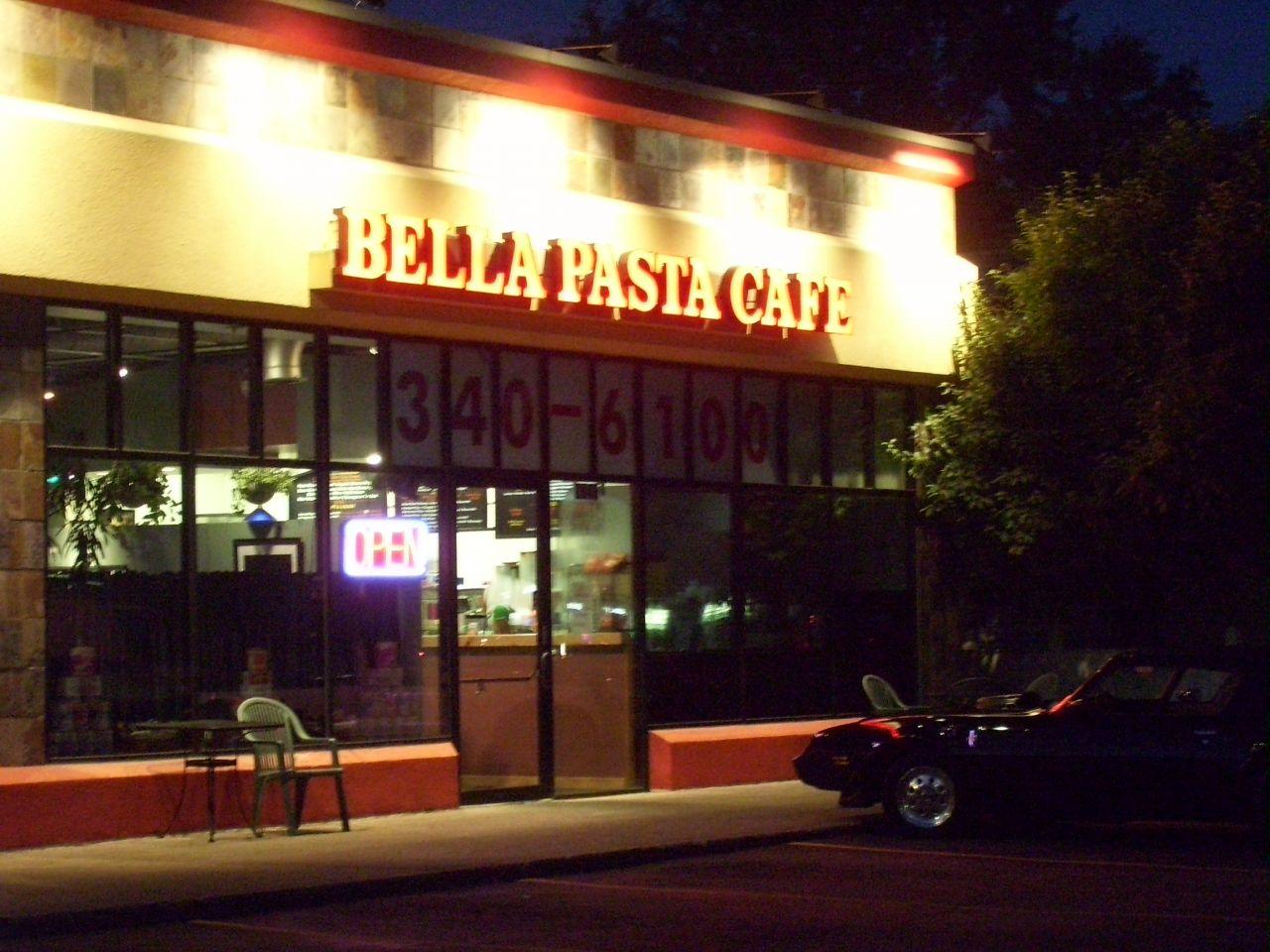 Bella Pasta Cafe On Ridge Road In Greece