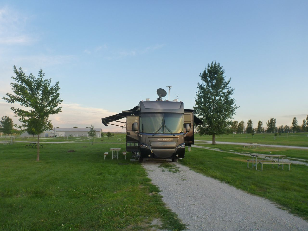 Our Site At The Amana Colonies RV Park