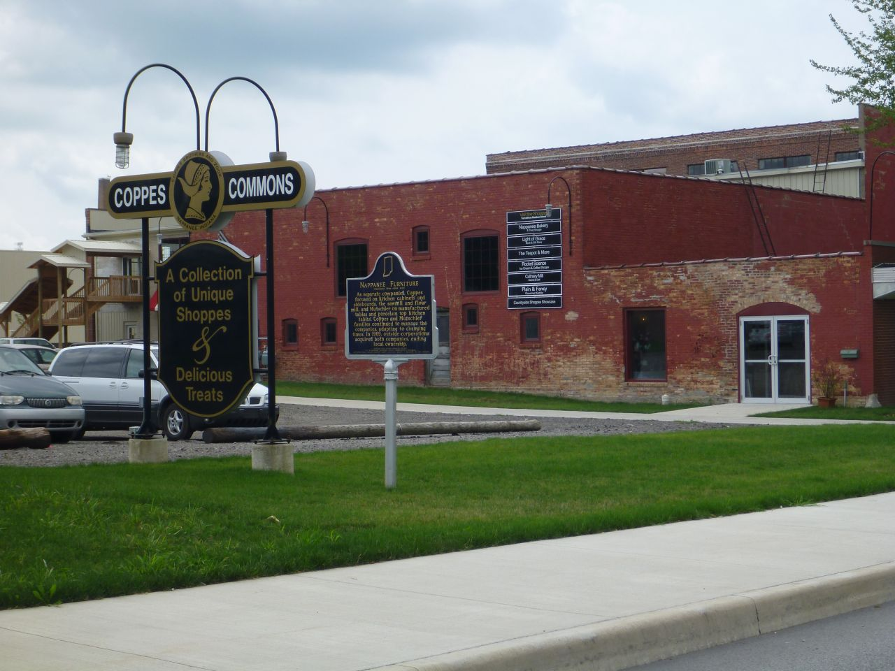 Coppes Commons In Nappanee, IN