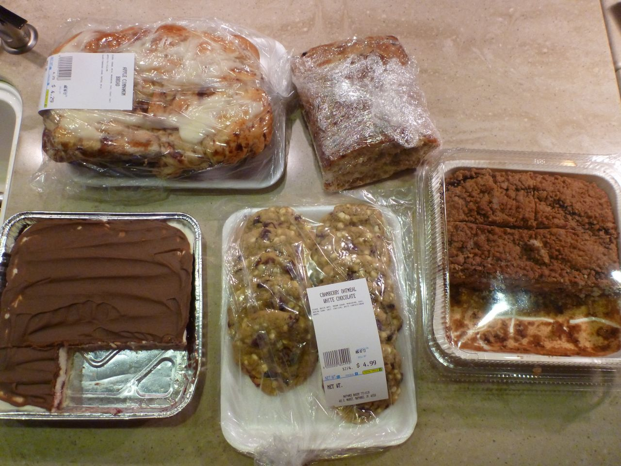 The Baked Goods In Amish Country Are Sooo Good.  We Got A Little Carried Away.