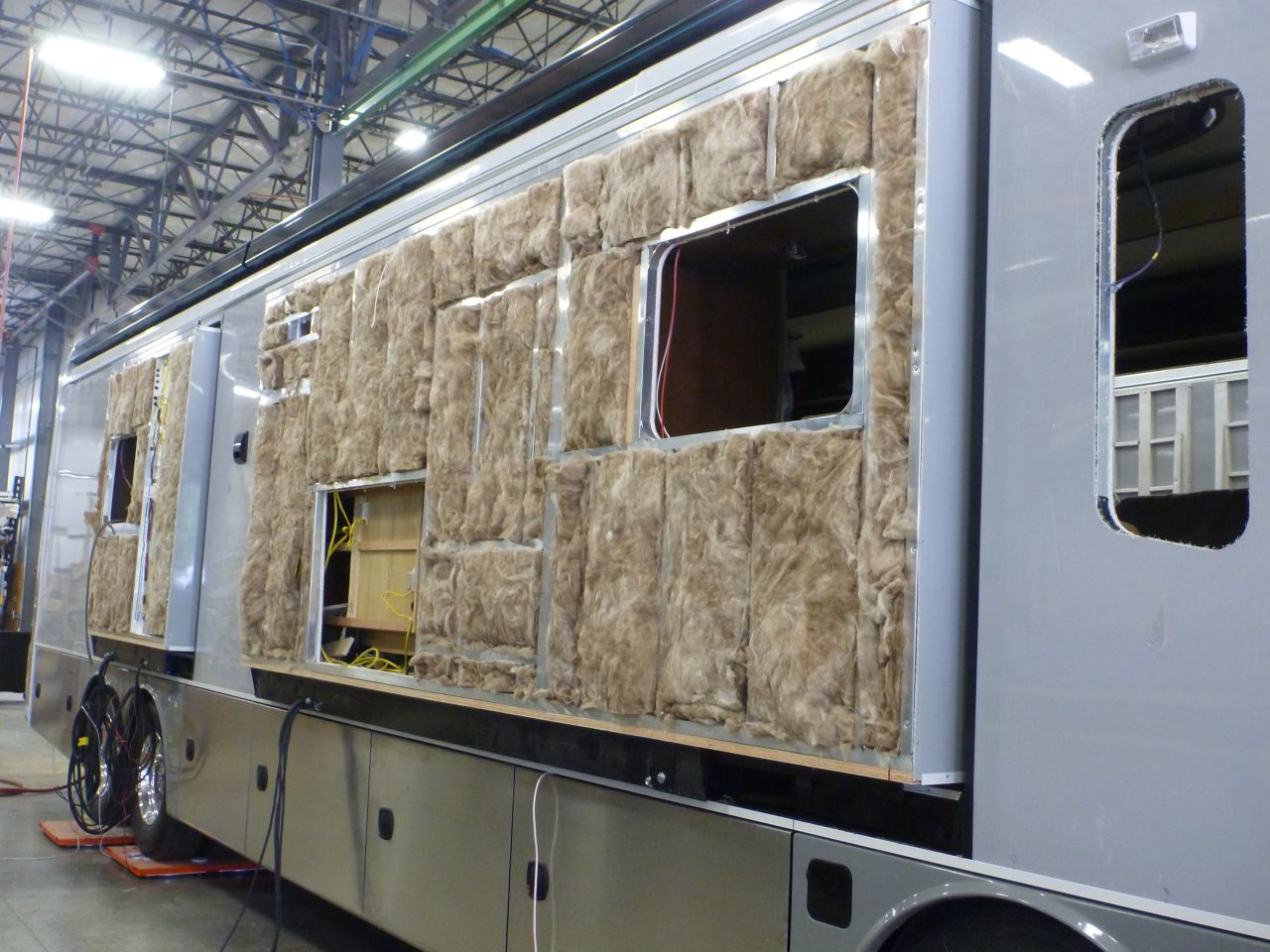 Lots Of Insulation On These Coaches At Entegra