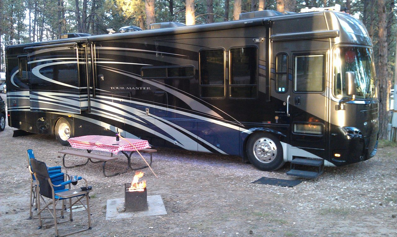 Our Site At Big Pine Campground In Custer, SD