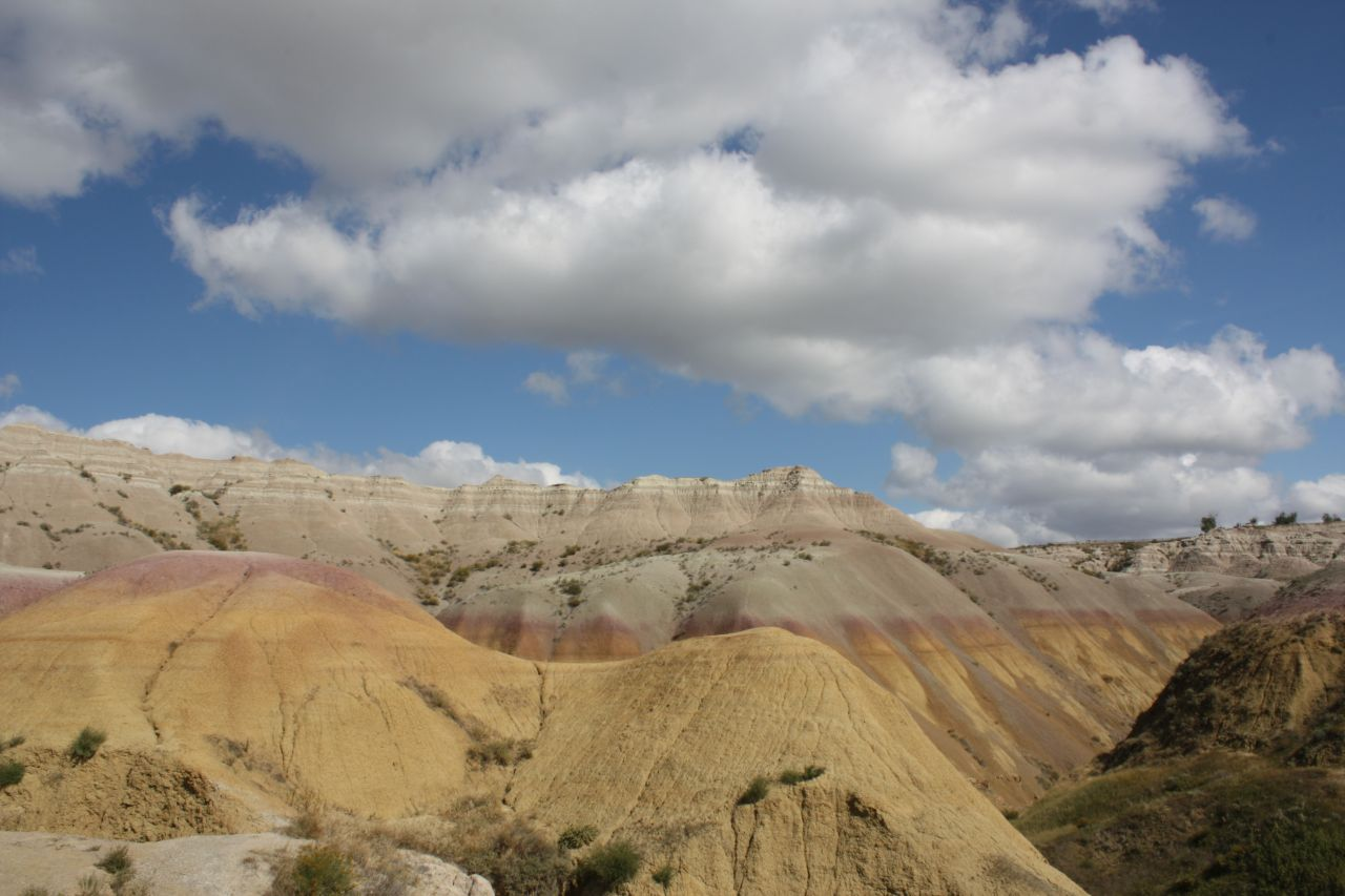 A View From The Yellow Mounds Overlook