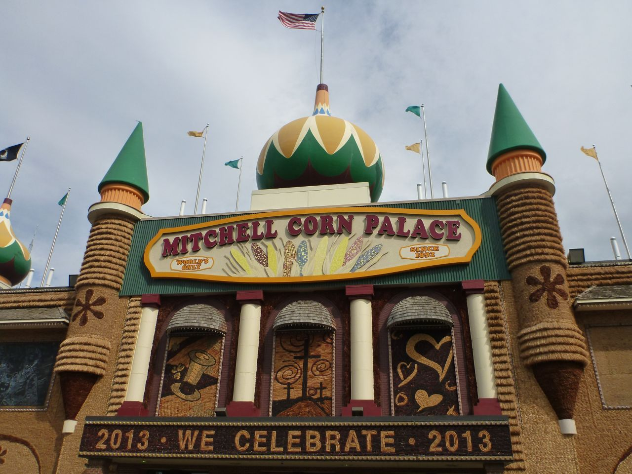 The Corn Palace In Mitchell, SD