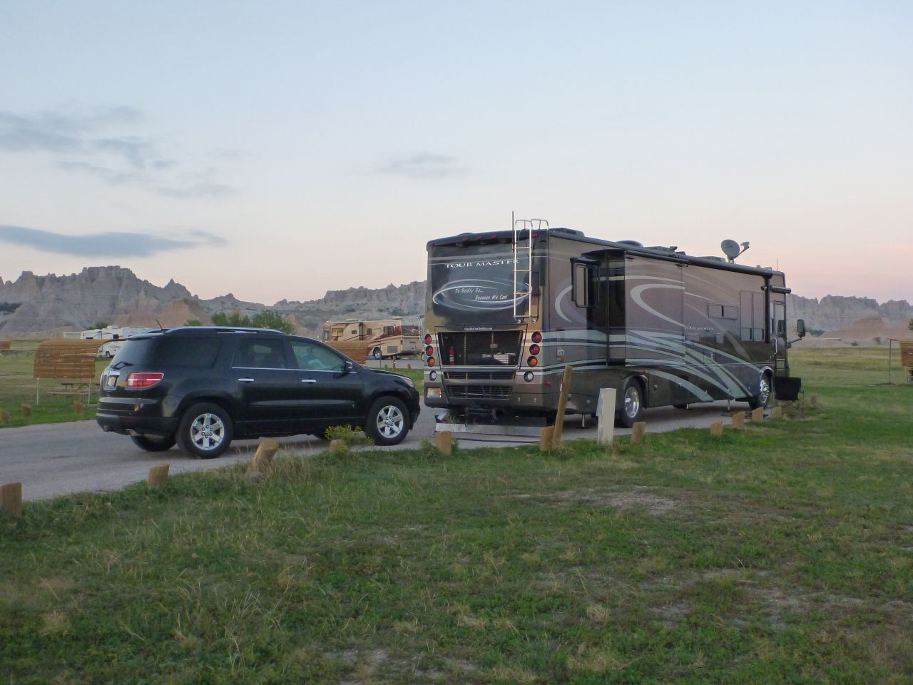 Our Site, Number 19, At The Campground Inside The Badlands