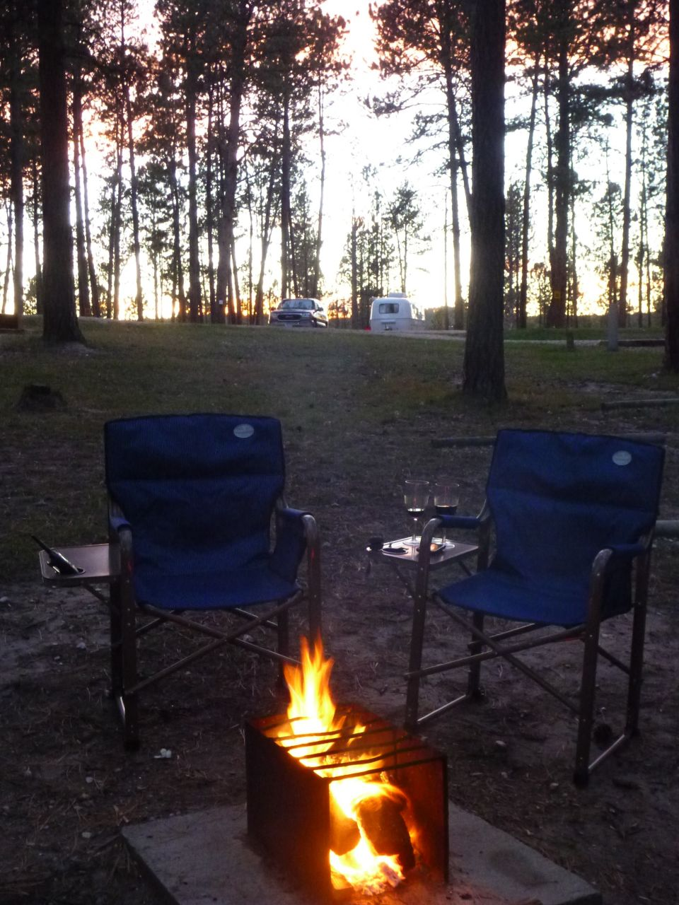 Our Evening Around The Campfire