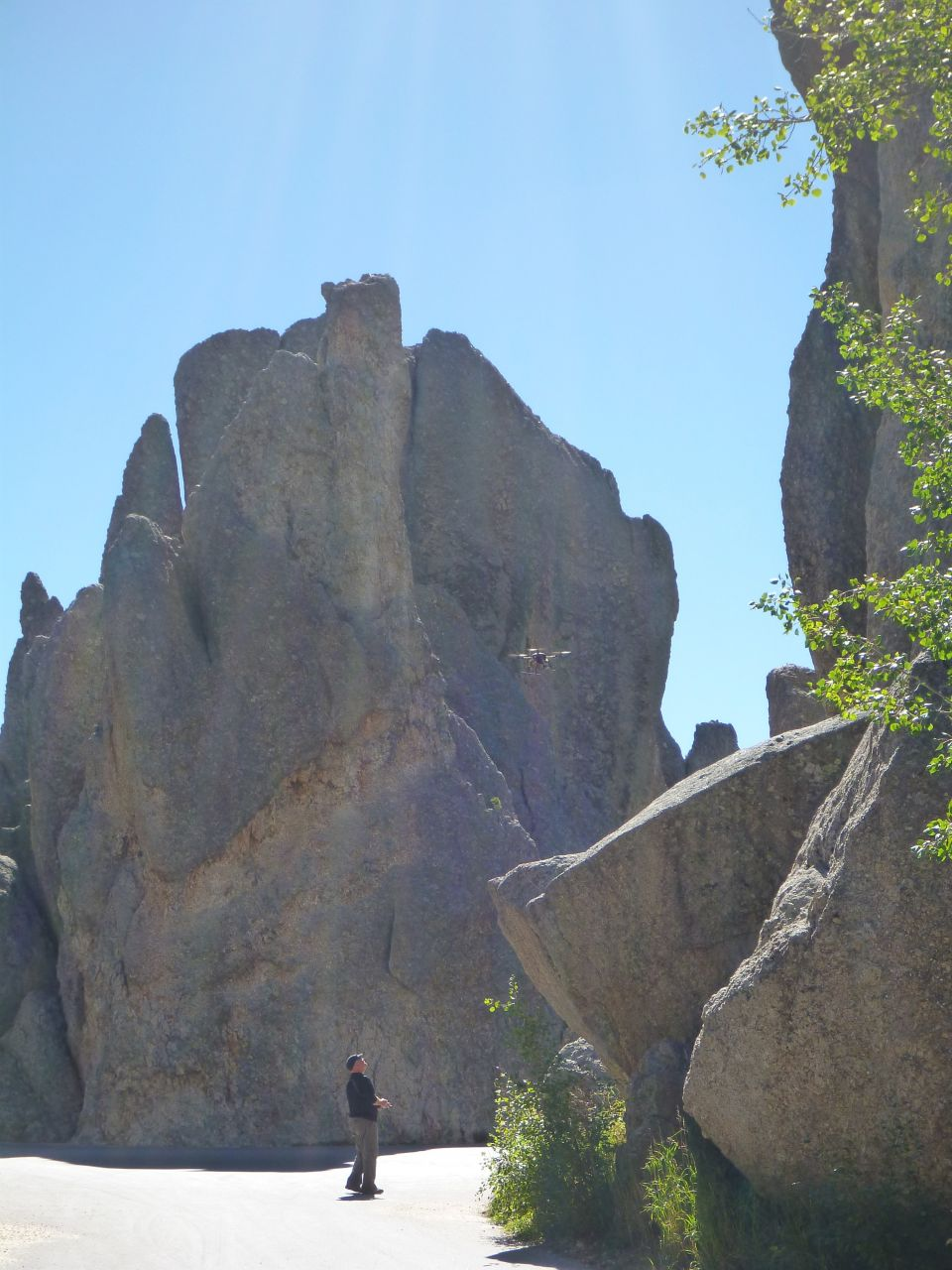 David Flying The Needles Highway Area