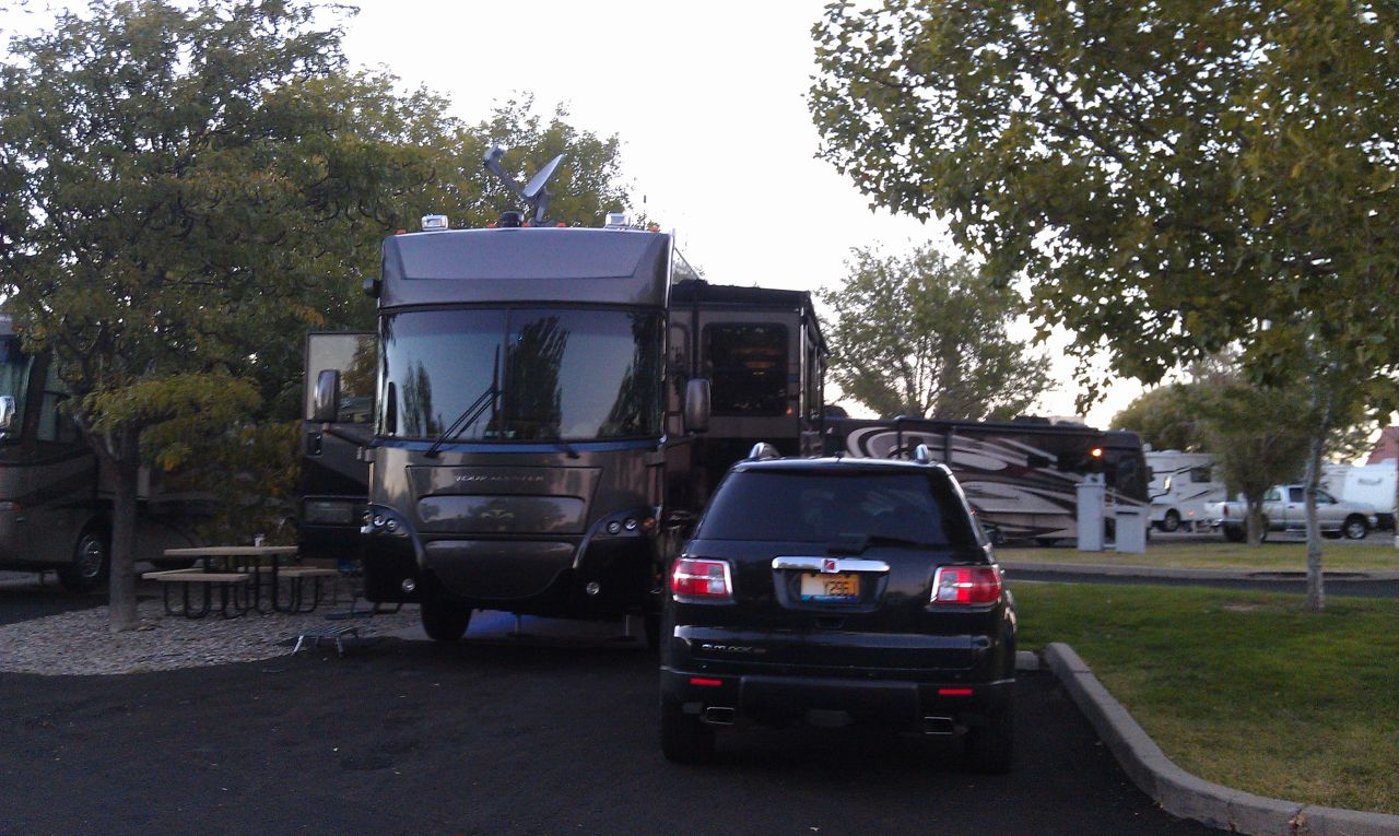 Our Site At The American RV Park In Albuquerque, NM