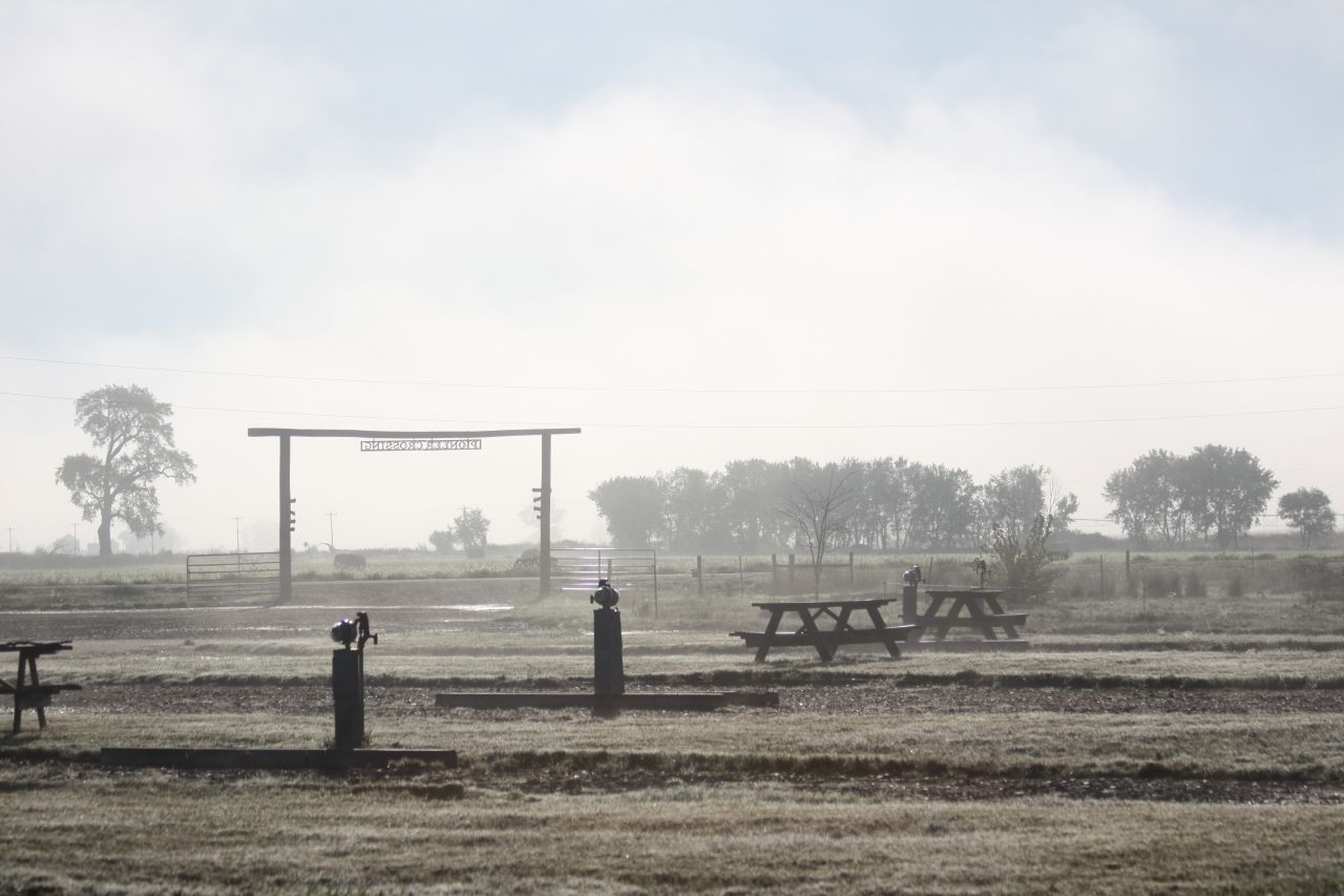The RV Park In The Fog