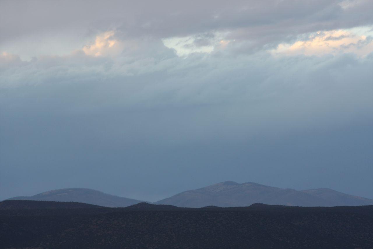 Beautiful Night Sky In Santa Fe