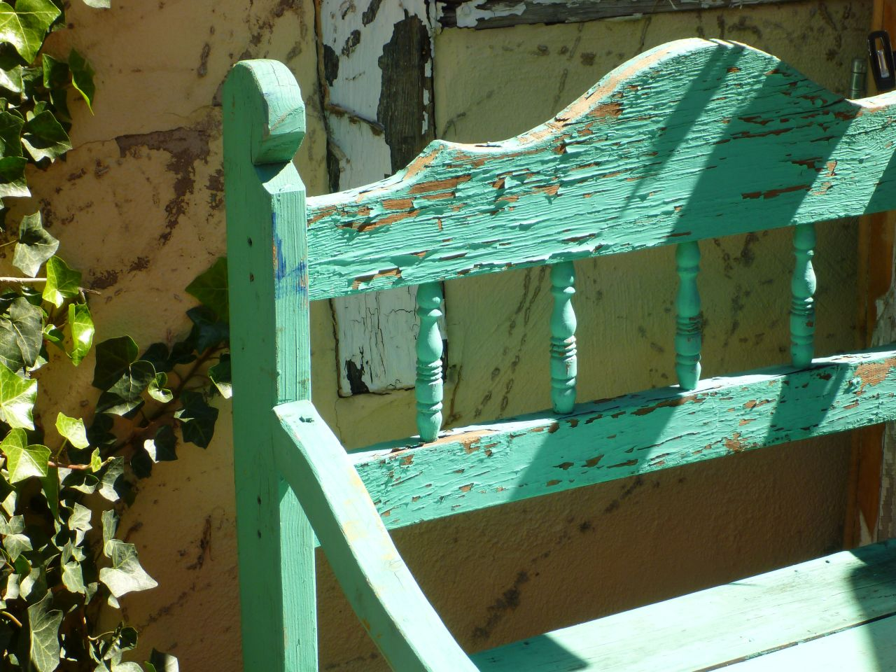 An Old Weathered Bench