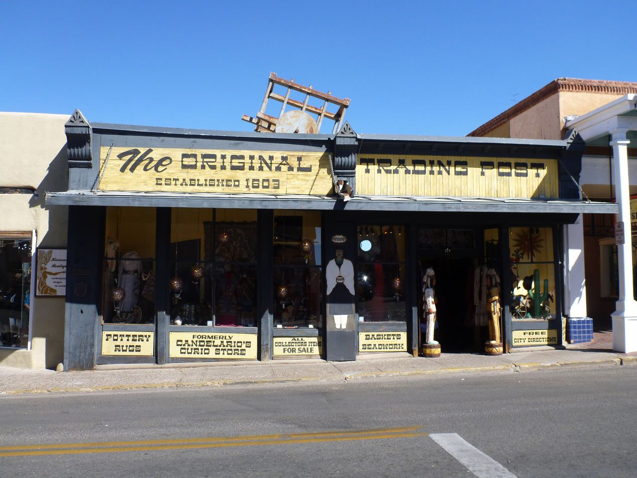 An Old Trading Post Near Santa Fe Square