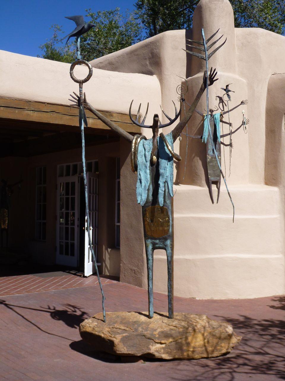 Sculptures Abound In Santa Fe