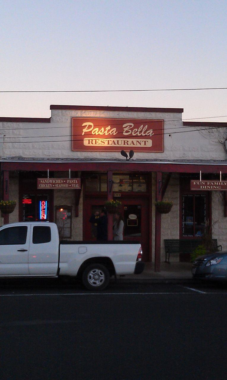 Pasta Bella In Fredericksburg, TX
