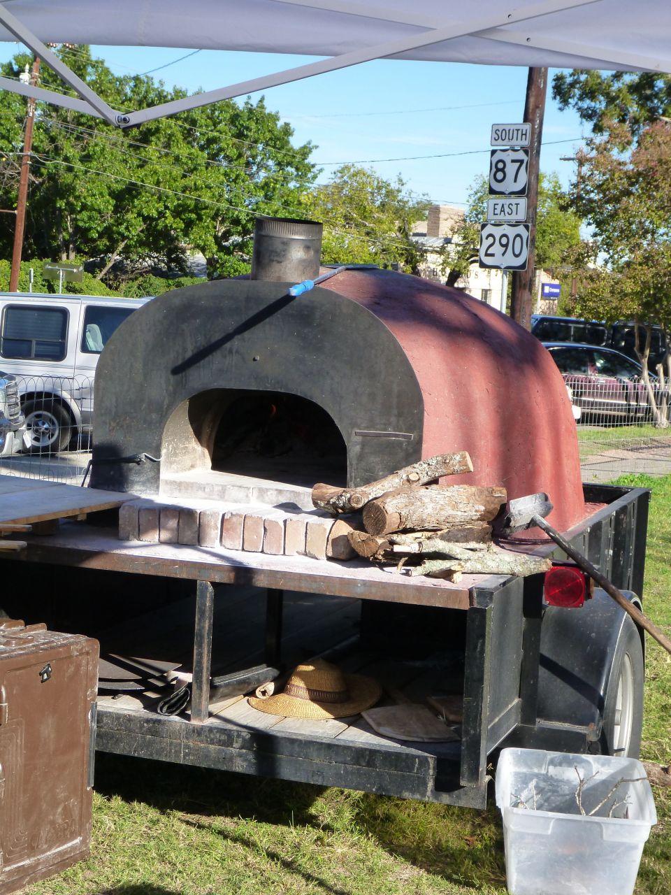 The Portable Brick Pizza Oven