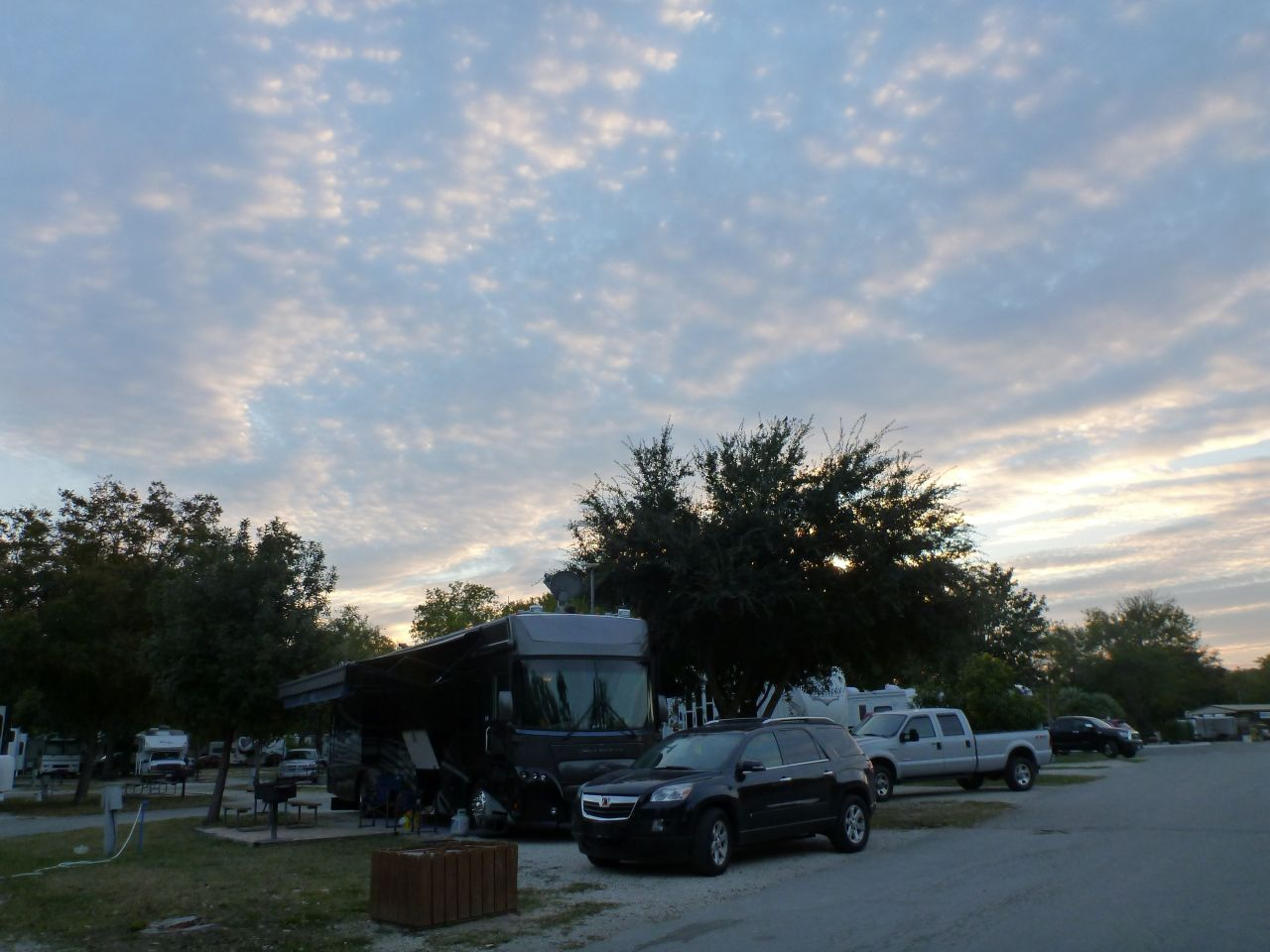 Our Site (A7) At The Alamo KOA In San Antonio, TX