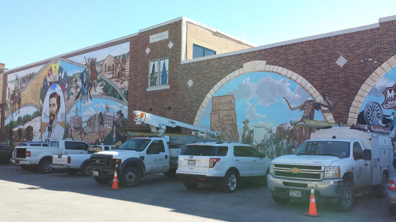 Murals Around Cleburne, TX