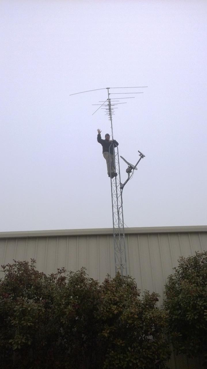 David Installing Wifi Antennas