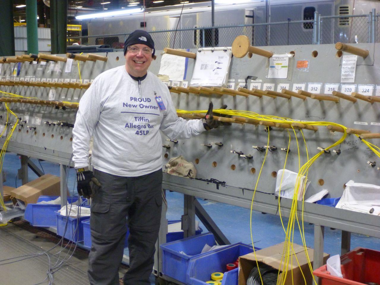 David At The Wiring Station