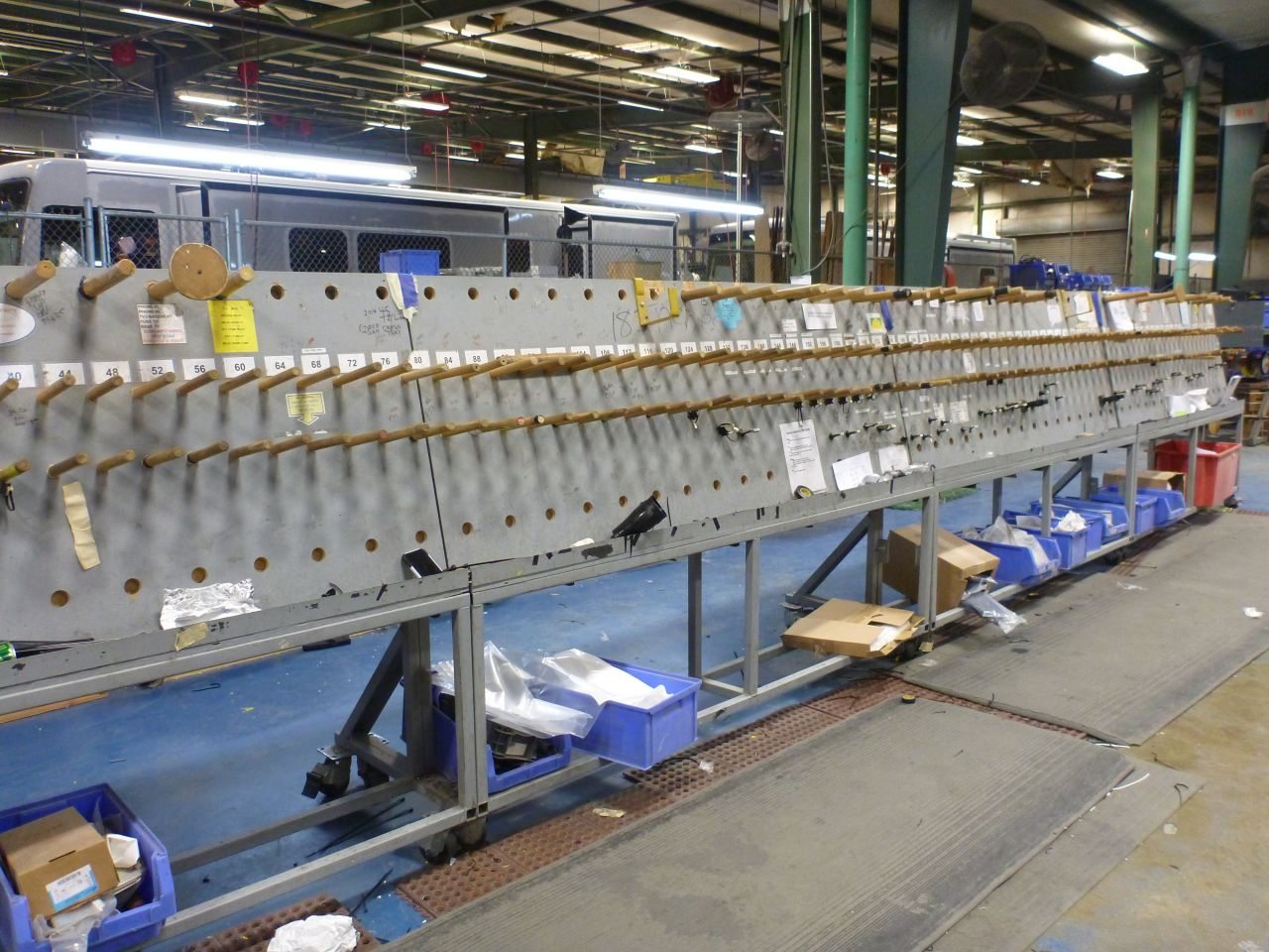 The Empty Loom Waiting For The Next Wire Run