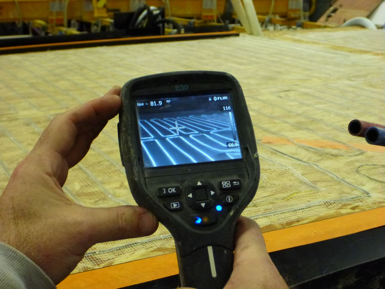 A Flir Thermal Imaging Detector