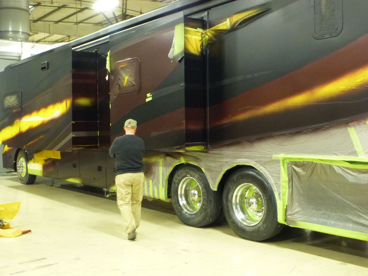 David Inspecting The Newly Painted Coach