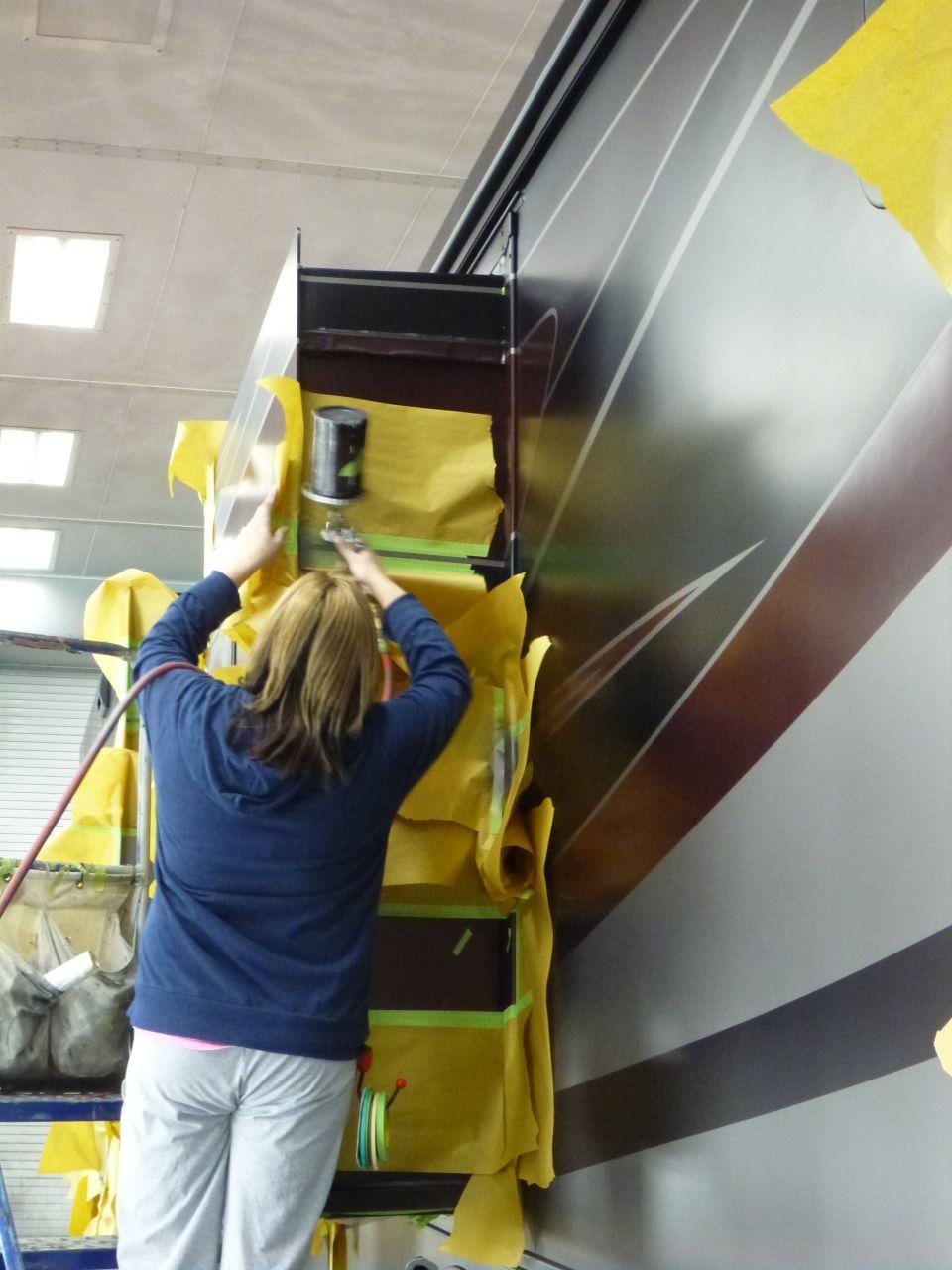 Spraying Bedroom Slide