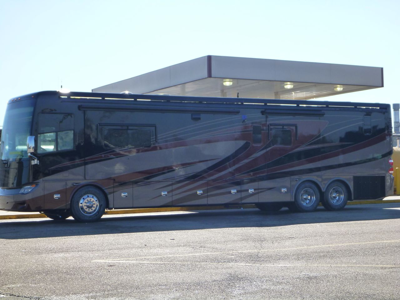 The Coach Looks Different In Non-Direct Sunlight