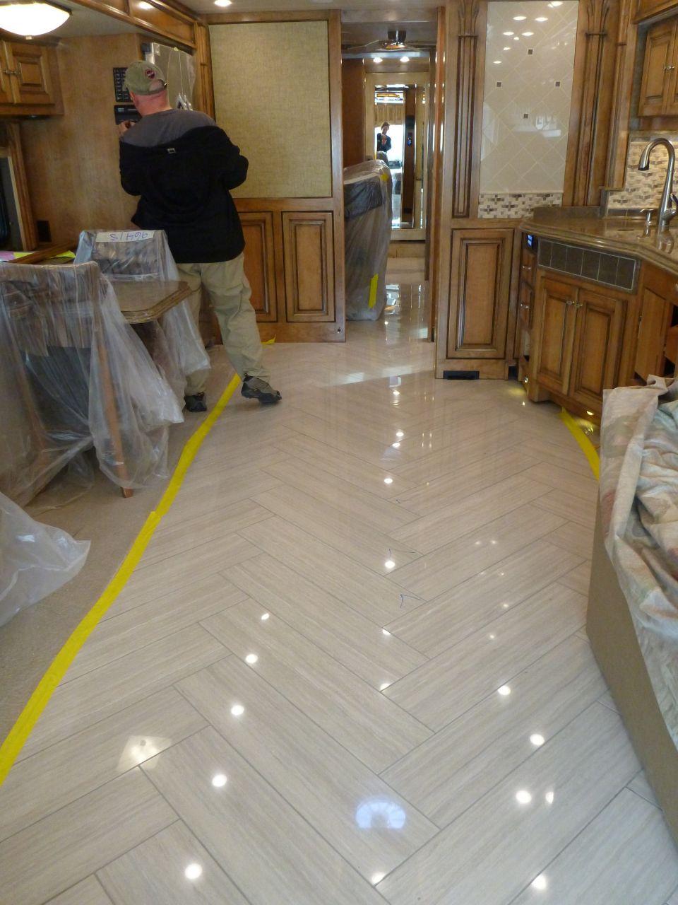 The Tile Flooring Finally Revealed