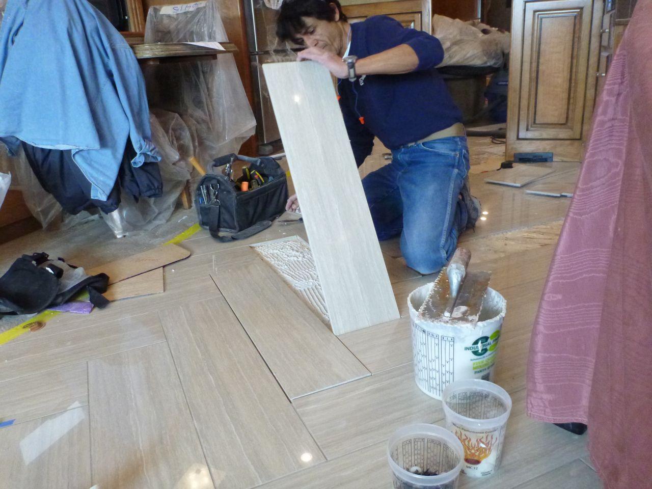 Replacing Tile