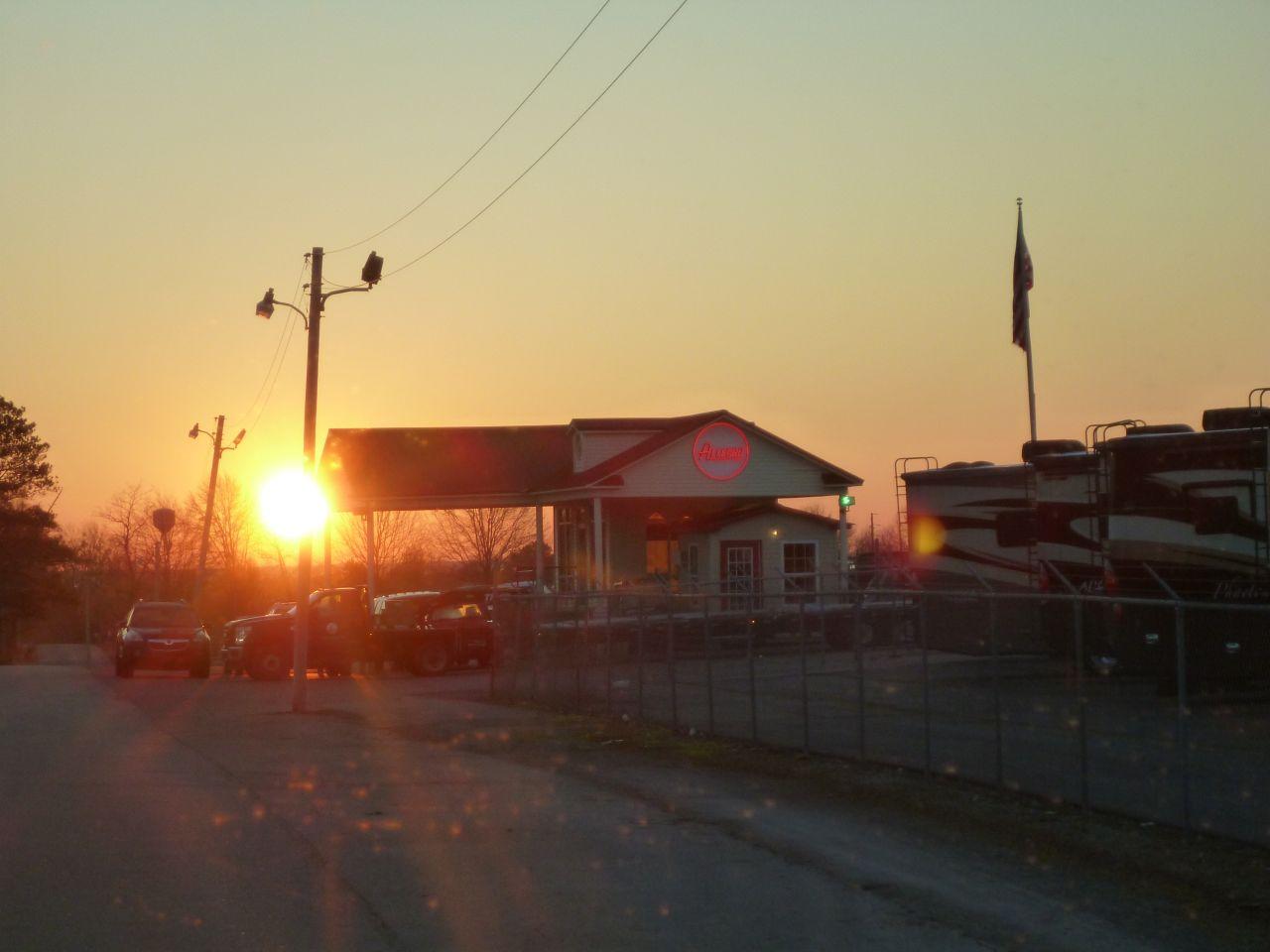 Tiffin Motorhome Sunrise