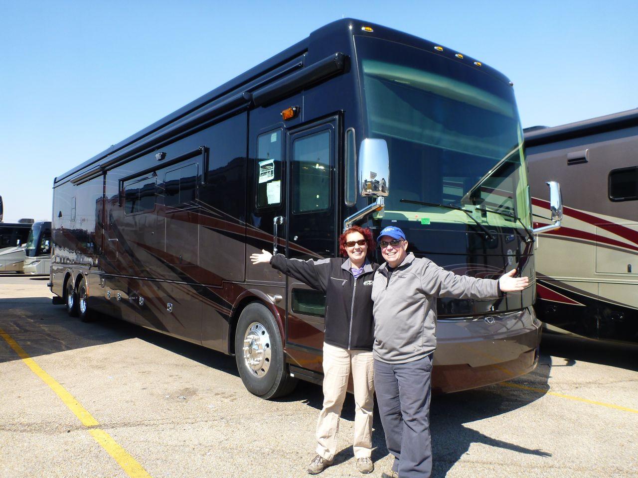 Our New 2014 Tiffin Allegro Bus 45LP