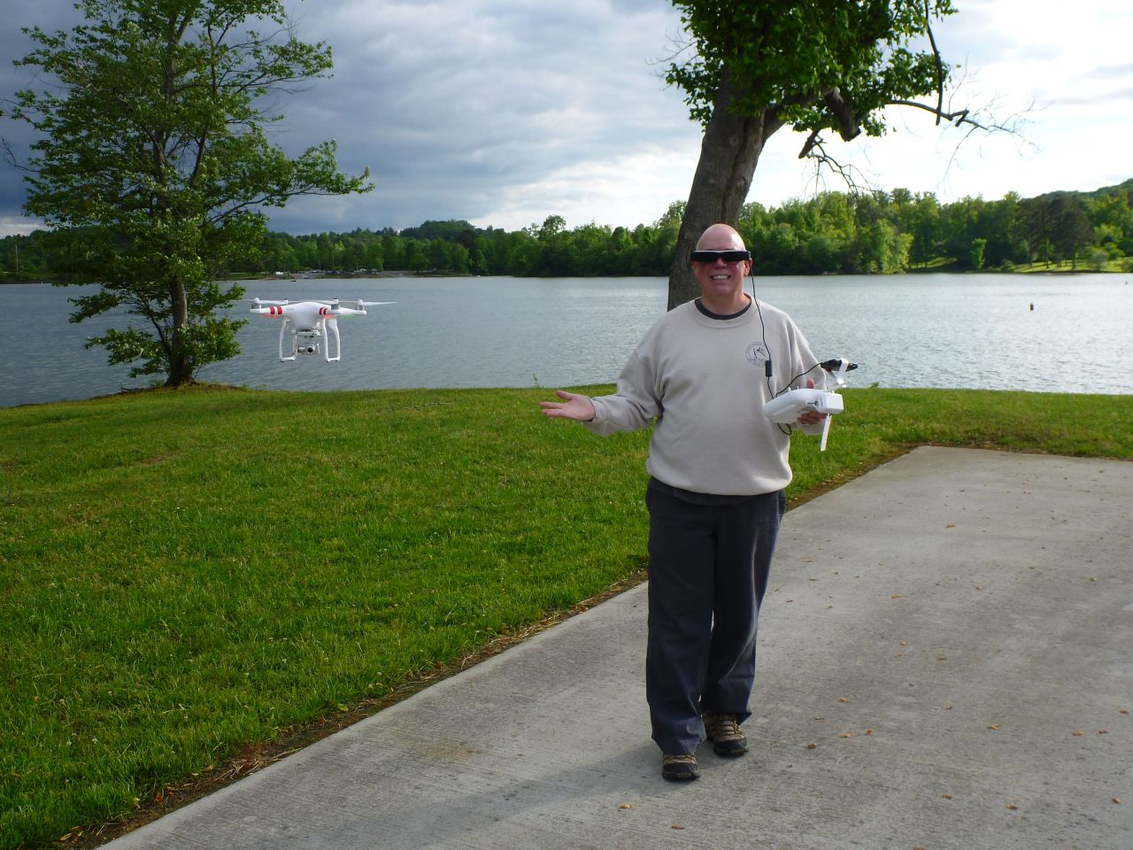 David And His New Quadcopter