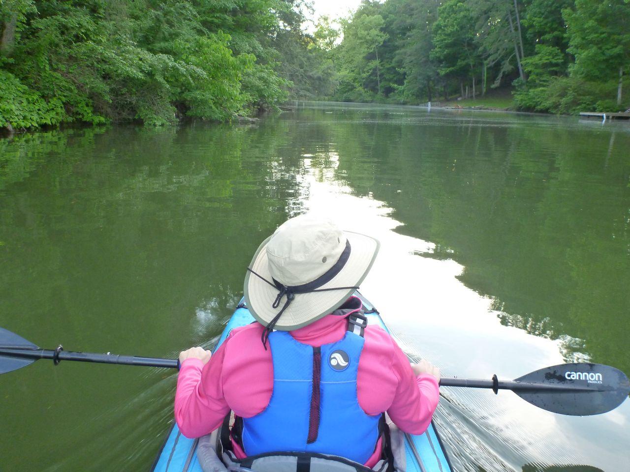 Kayaking Around The Area