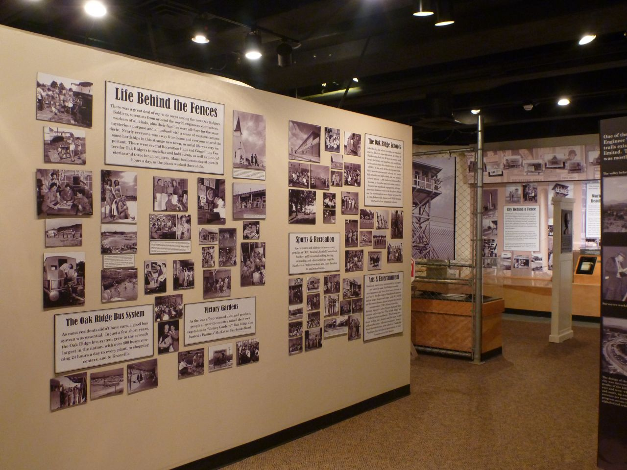 Inside The American Museum Of Science And History In Oak Ridge, TN