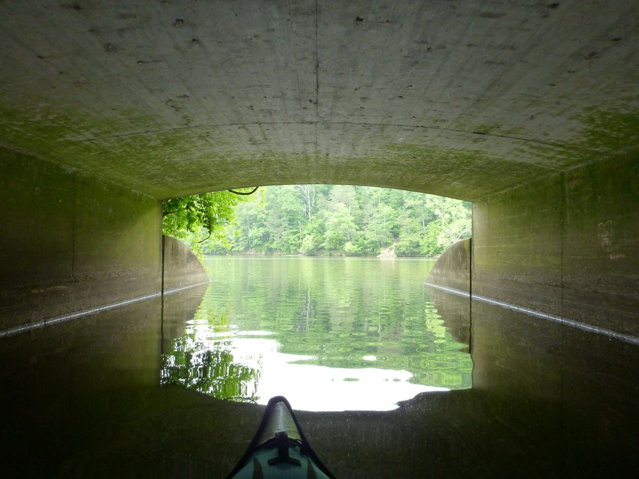 Under A Bridge To Another Creek/Lake Area