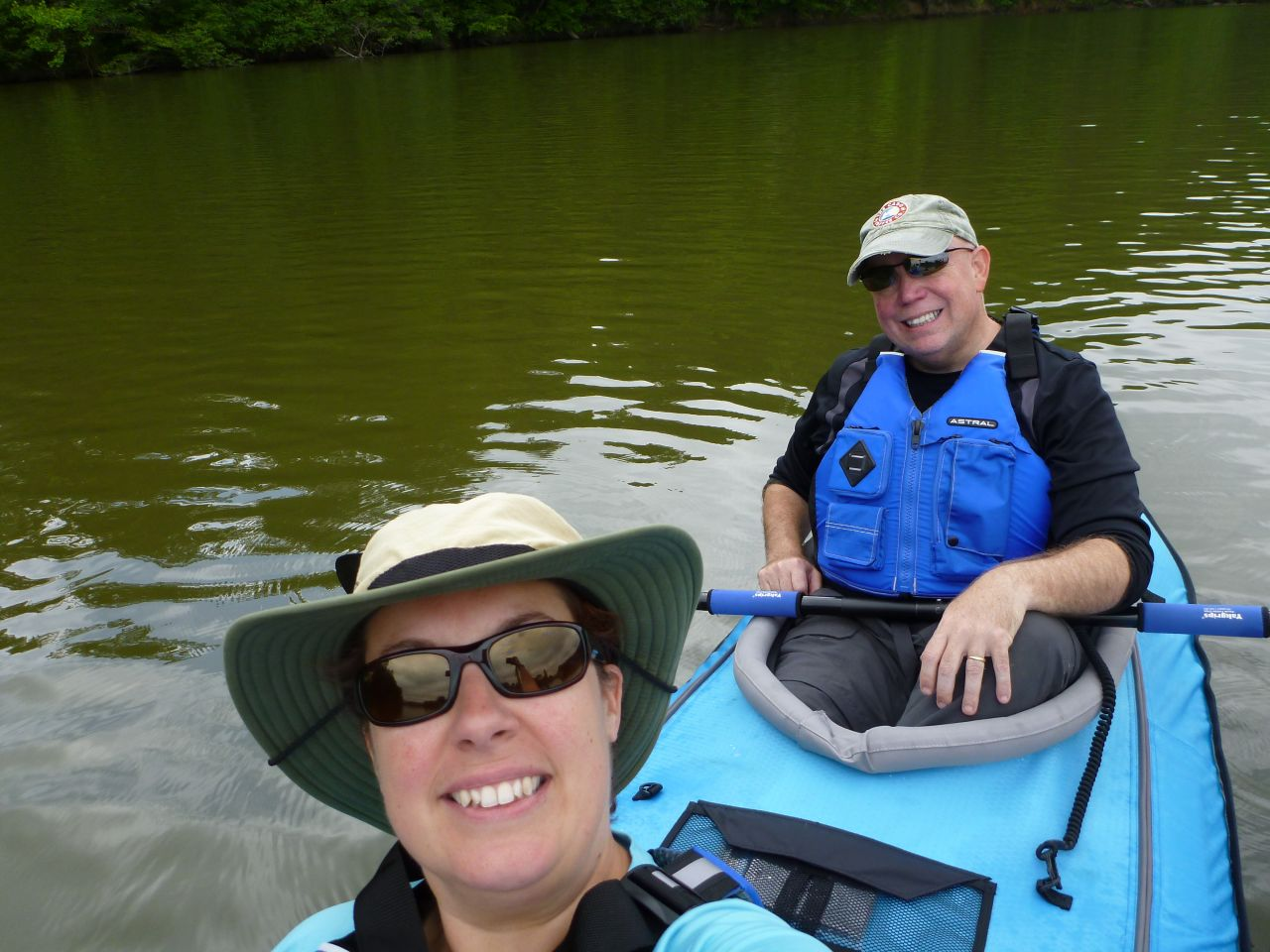 Enjoying The Kayak