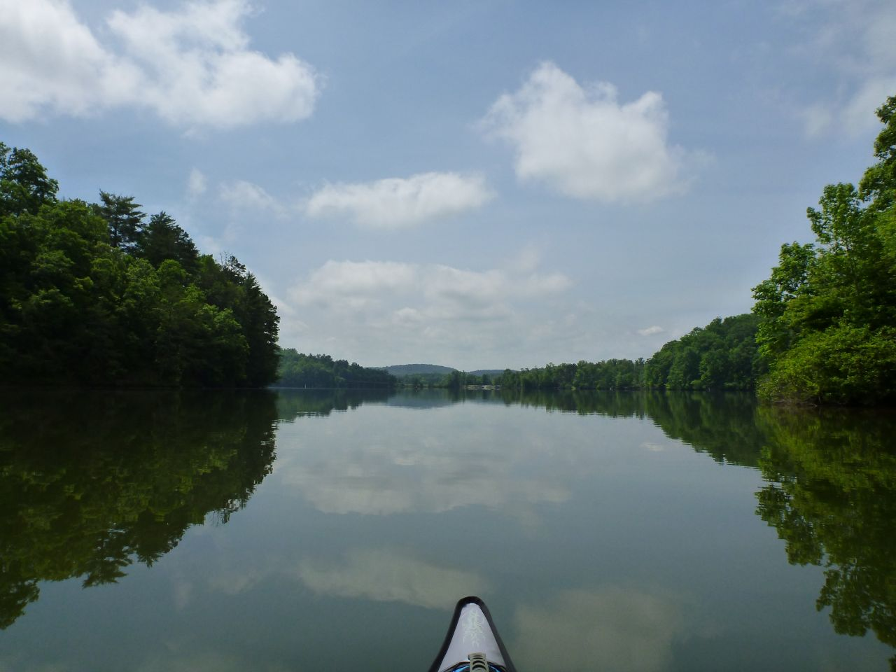 More Kayaking Along Caney Creek