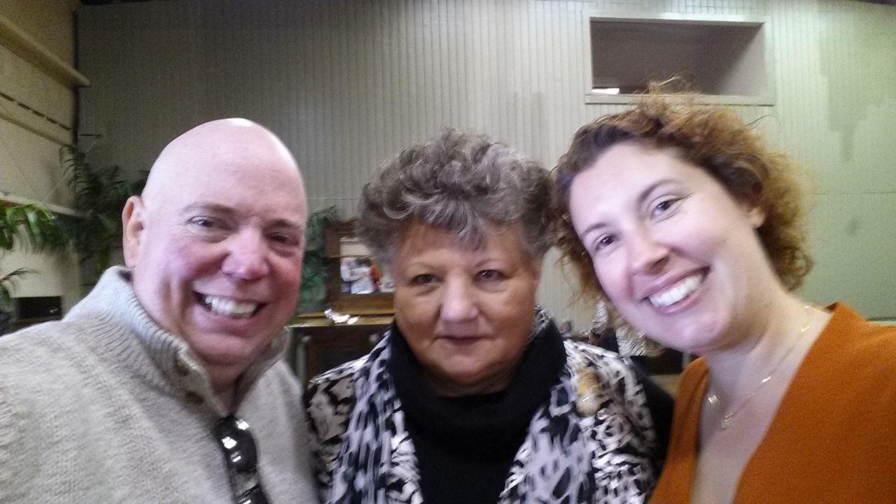 David, Annette And Brenda