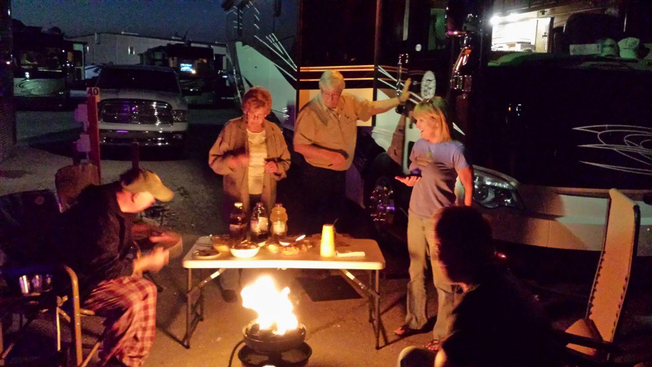 The Gang At Camp Red Bay