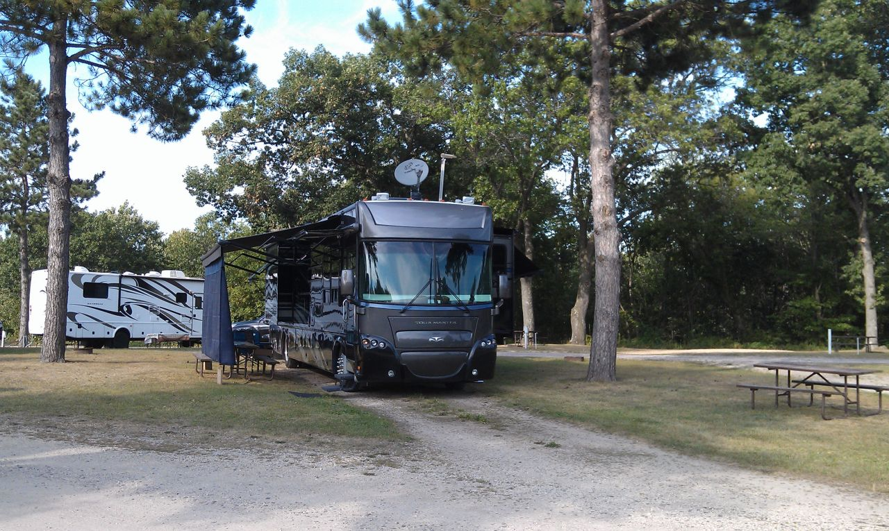Country Roads RV Park, Wisconsin Dells, WI