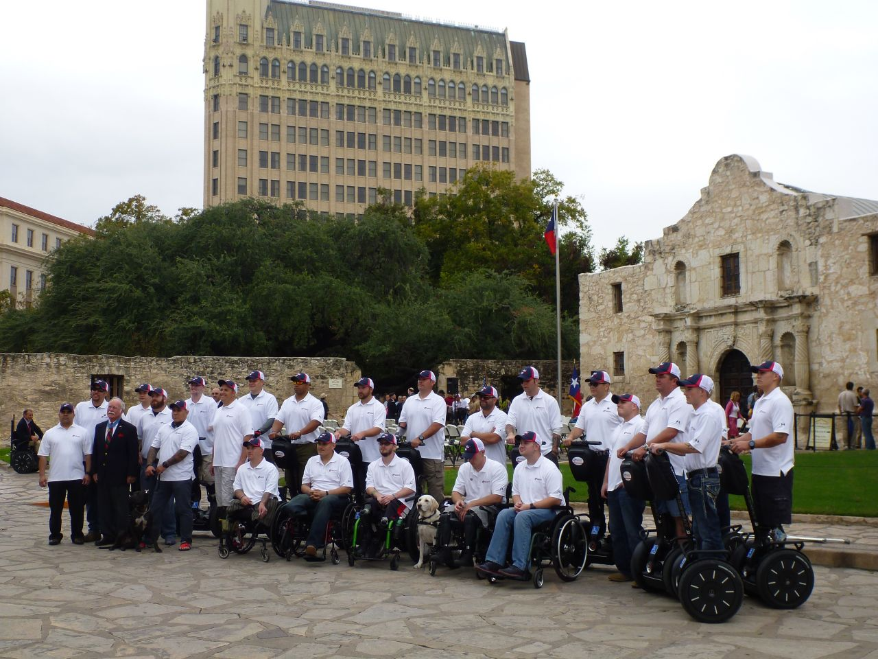 Segs4Vets.org At The Alamo, San Antonio, TX
