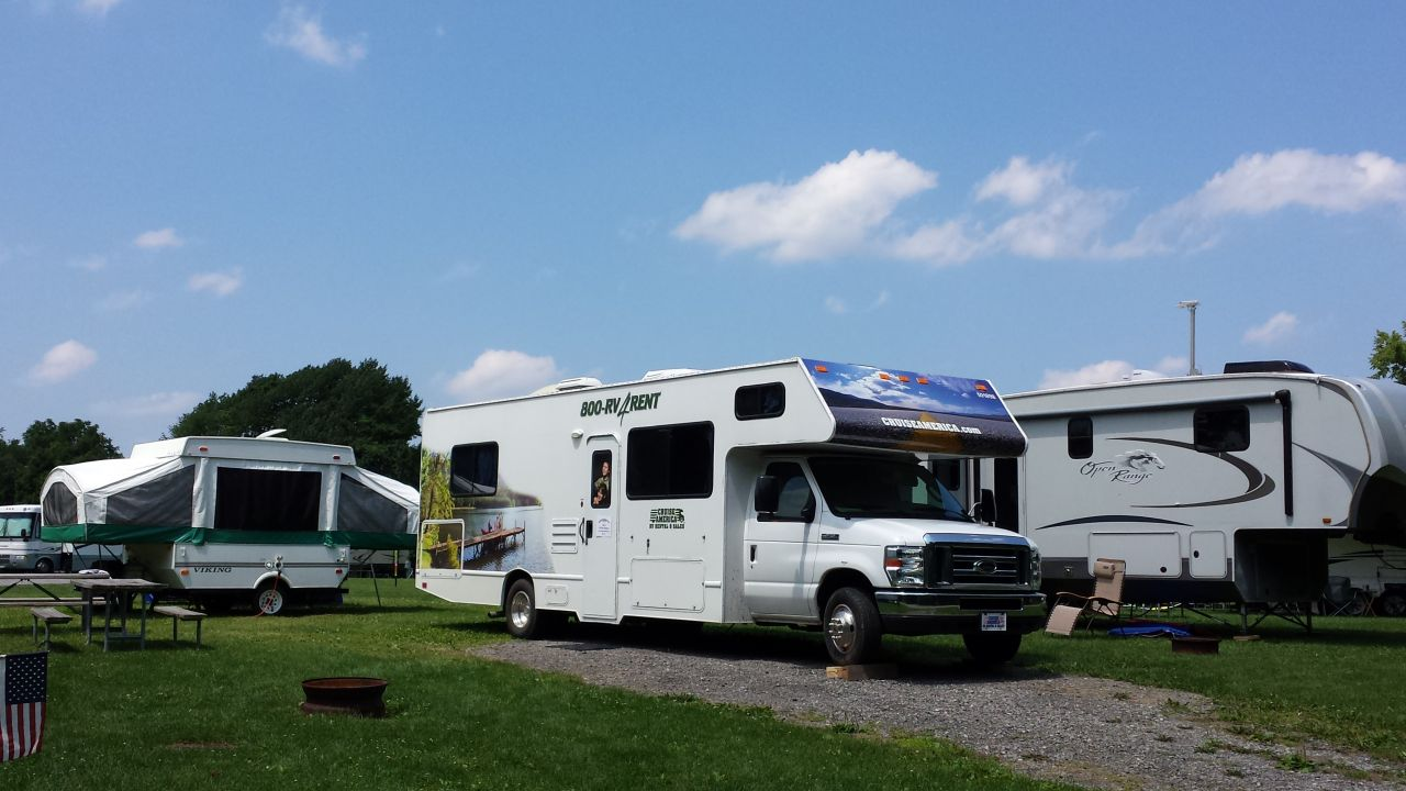 A Rental RV In Our Campground Now