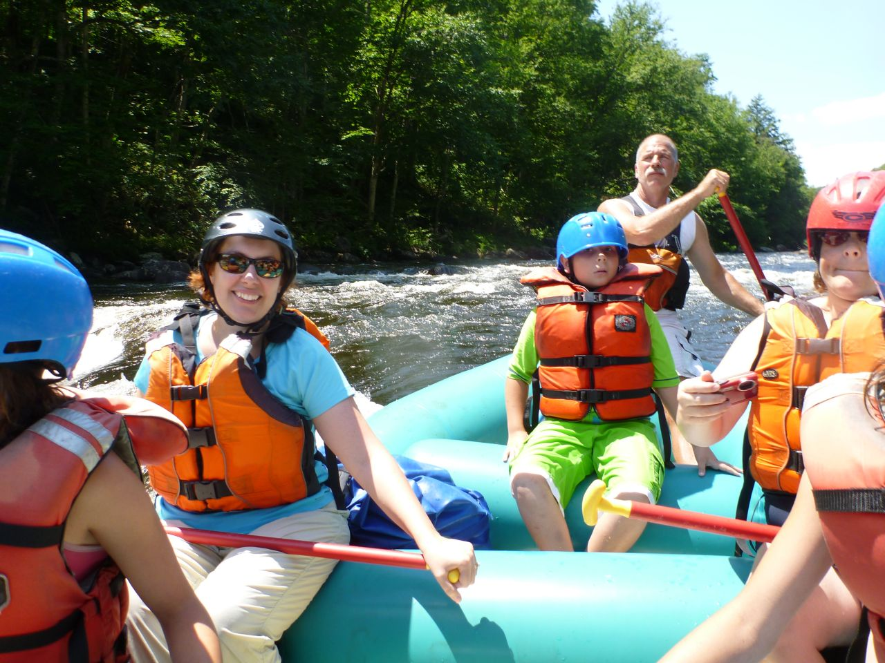 White Water Rafting In The Adirondacks