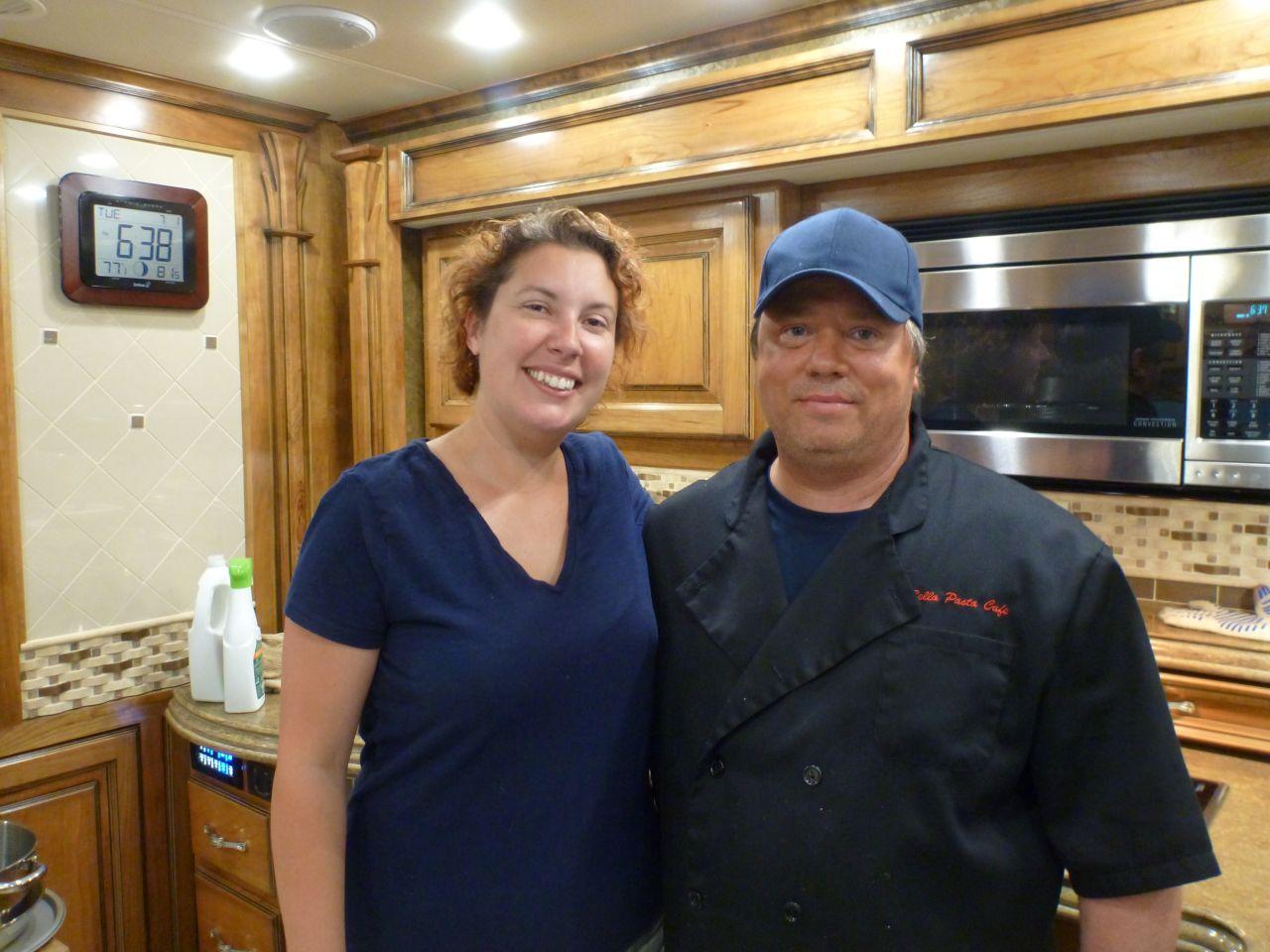 Brenda And Danny From Bella Pasta