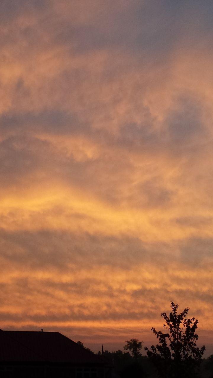 Gorgeous Evening Sky At River Ridge RV Resort