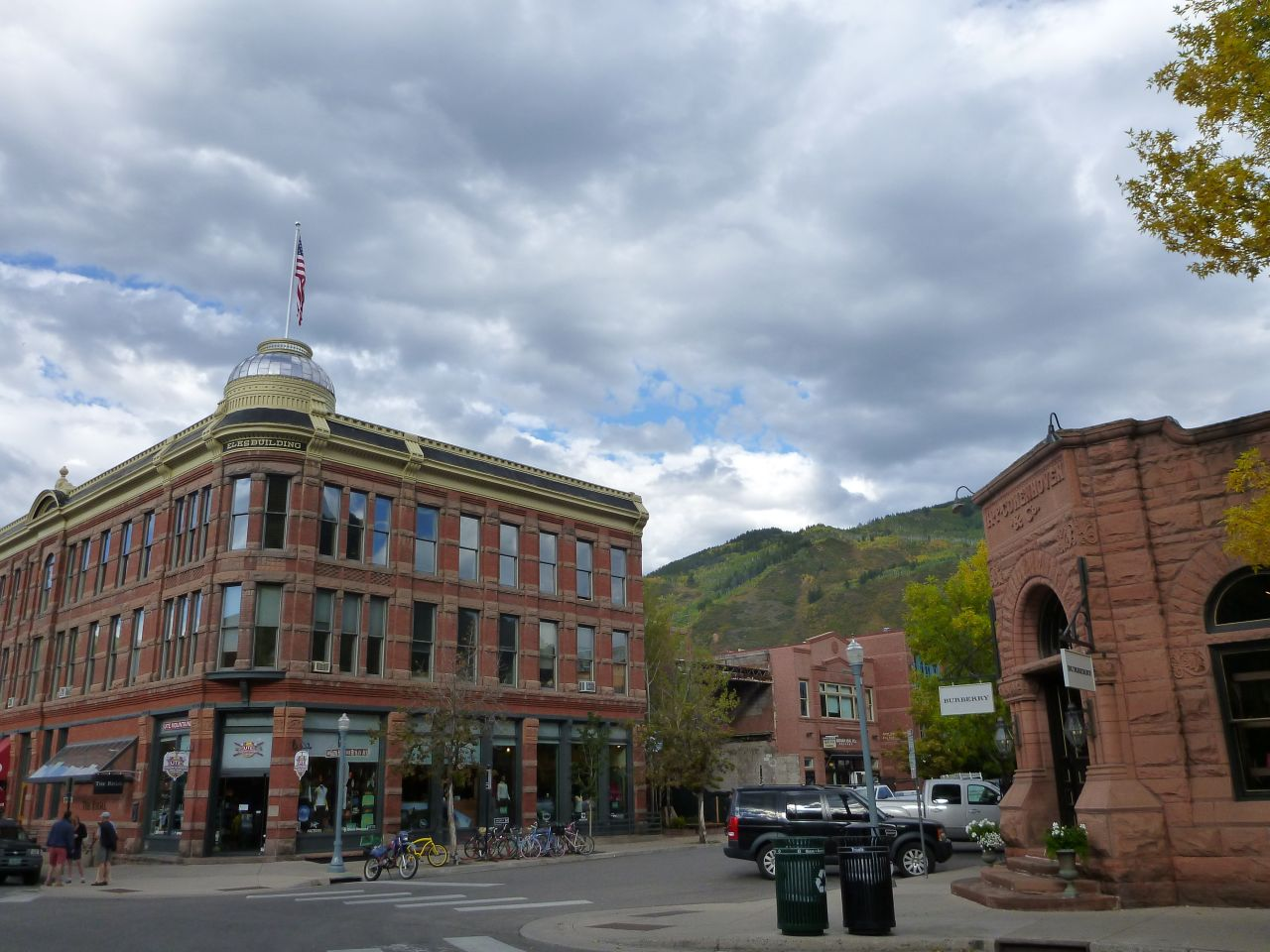 Beautiful Views Surround Aspen, CO