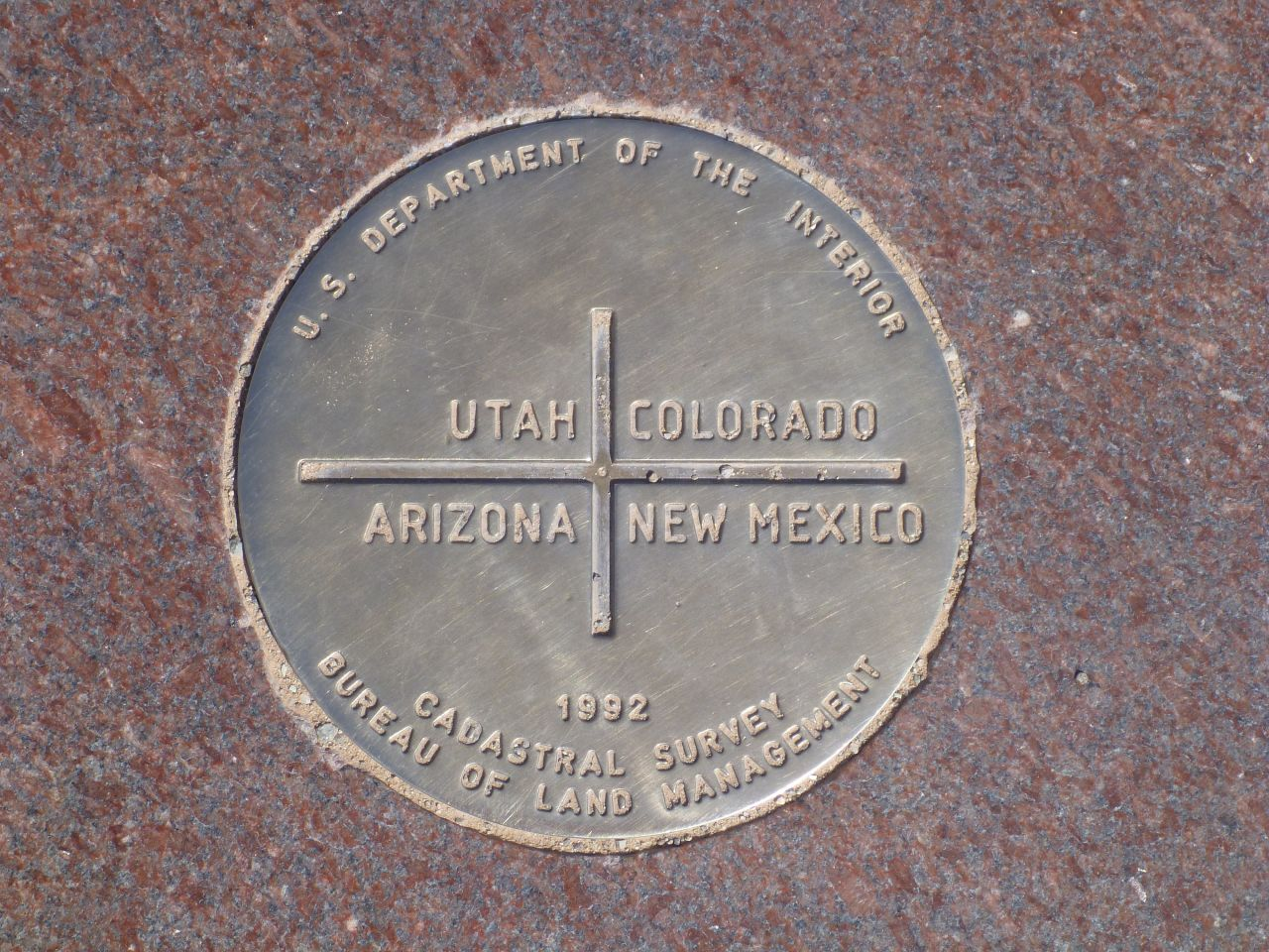 Four Corners Monument And Bluff Utah Outside Our Bubble